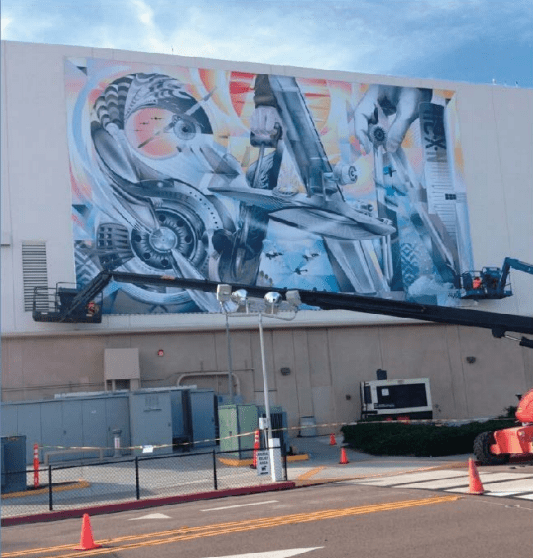 Art Project for the San Diego Airport Commuter Terminal