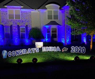 Congrats 2020 Yard Sign