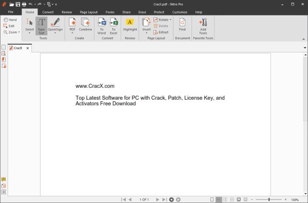 Nitro Pro Enterprise Full License Key & Patch {Tested} Free Download