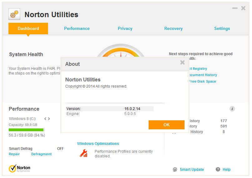 norton utilities activation code
