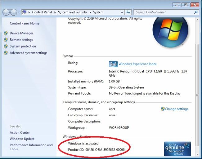 RemoveWat 2.2.7 Genuine Windows 7 Free Download