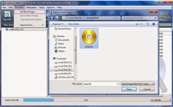 WinISO Registration Code + Crack Standard v 6.4  Full Free
