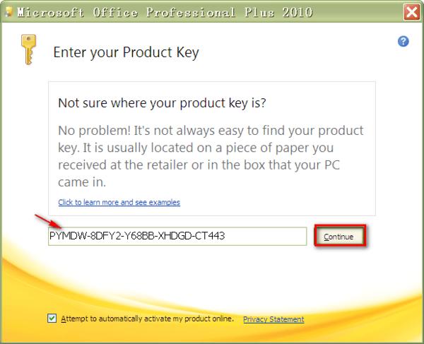 publisher 2010 key