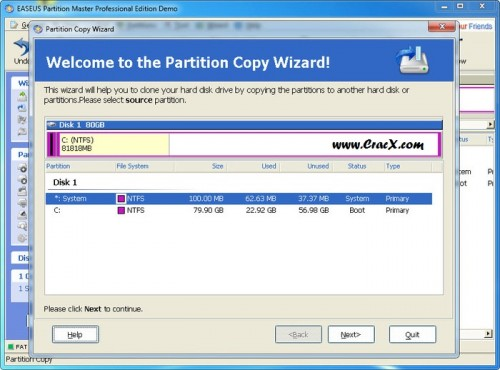 EaseUS Partition Master Keygen 10.5 Crack Full Version