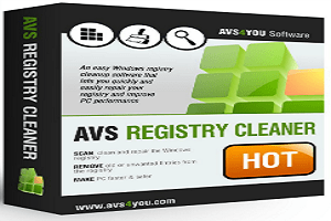 AVS Registry Cleaner 2.3 Crack Patch & Serial Key Full Free