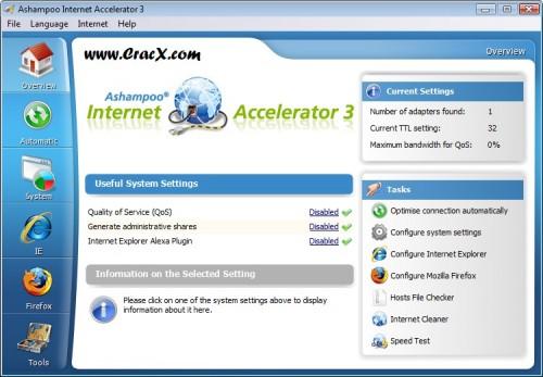 Ashampoo Internet Accelerator 3 License Key Full Download