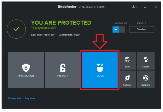 BitDefender Total Security 2015 Serial Keys Free Download from cracx.com