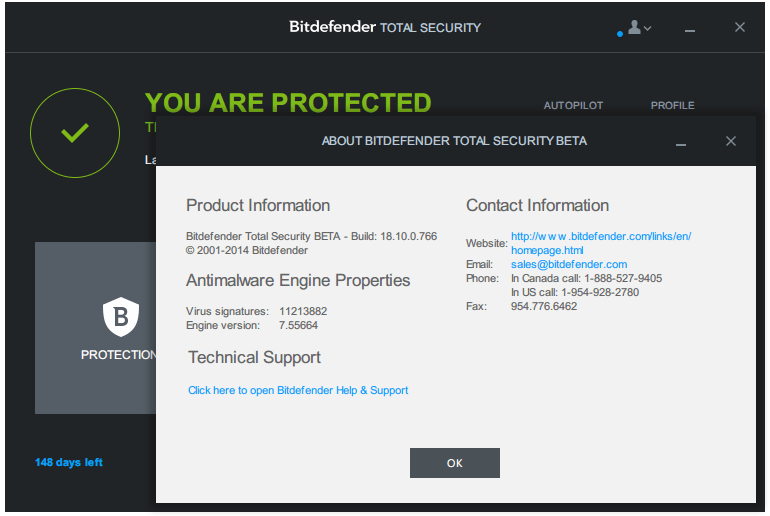 Bitdefender Total Security Zemana Antimalware
