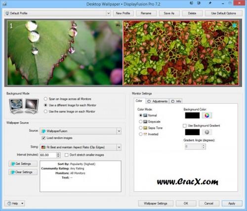 DisplayFusion Pro 7.1 Serial Key + Crack Full Free Download