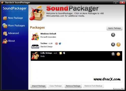 Stardock SoundPackager 1.2 Activation Key Free Download