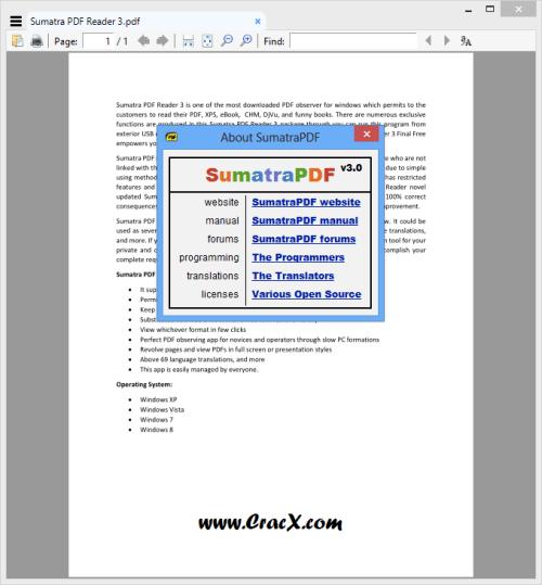 Sumatra PDF Reader 3 Keygen + Serial Number Full Download