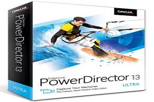 CyberLink PowerDirector 13 Ultimate Crack + Key Full Free