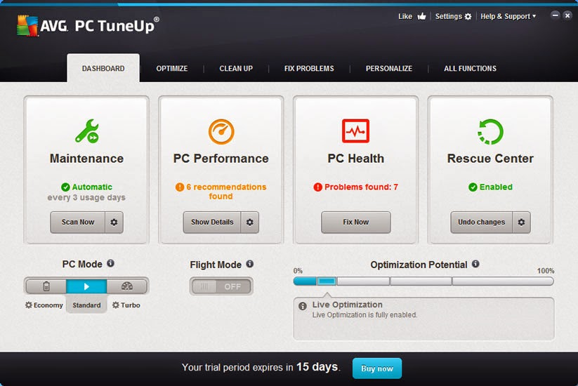avg tuneup key 2015 free