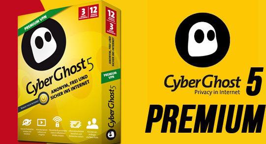 CyberGhost VPN 5 Crack Premium, Serial Key Full Download
