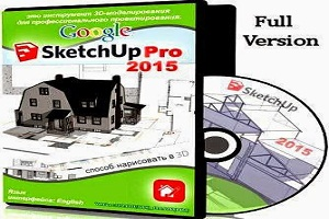 Google SketchUp Pro 2015 Crack & Serial Number Full Free