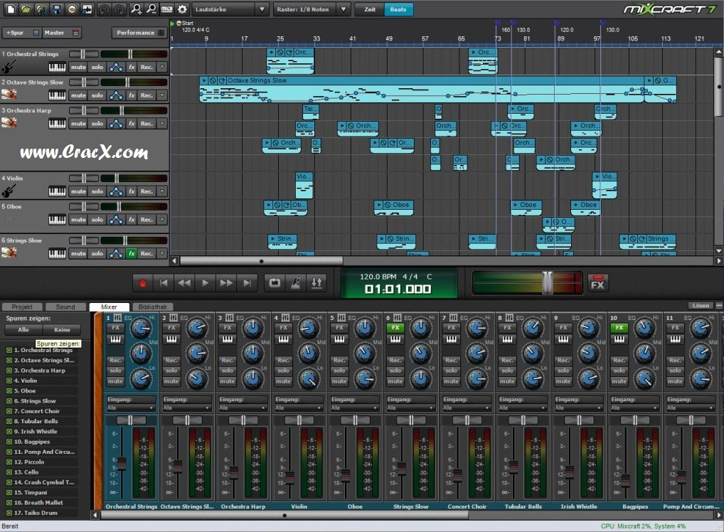 mixcraft 7 free download