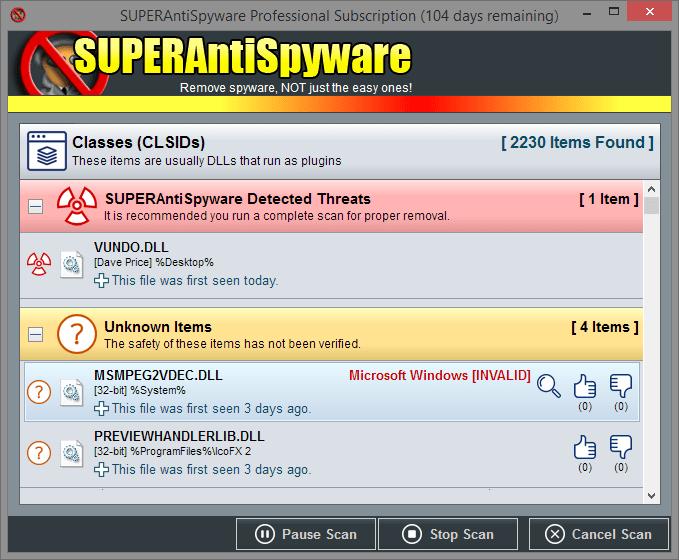 Resultado de imagen para SUPERAntiSpyware Professional 6