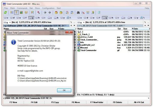 Total Commander 8 Crack Plus Serial Key Full Free Download