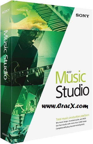 ACID Music Studio 10 Serial Number + Crack Free Download