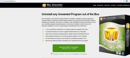 Max Uninstaller 3.6 Crack with License Key Free Download