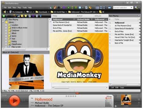 mediamonkey serial