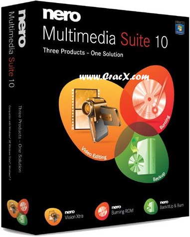 Nero Multimedia Suite 10 Serial Number, Crack Full Download