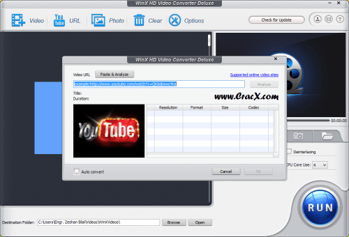 WinX HD Video Converter Deluxe 5.6 License Code Full Free