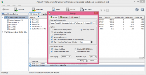 Active@ File Recovery 14.5 Registration Key Full Free Download
