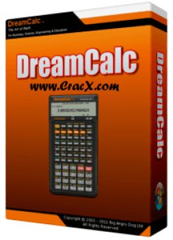 DreamCalc Pro 4.10 Serial Key + Patch Crack Free Download