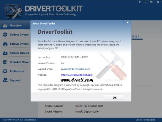 license key driver toolkit