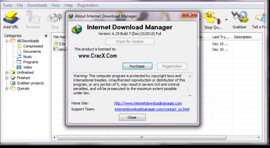 IDM 6.25 Build 10 Crack Serial number Free Download