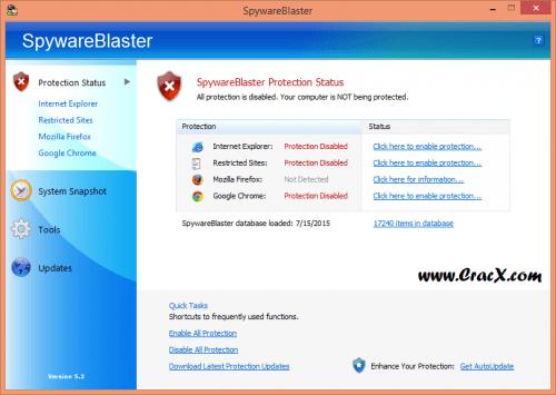 SpywareBlaster 5.2 Crack + Keygen Patch Full Free Download