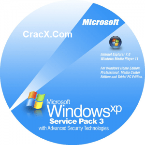 Windows XP ISO SP3 64bit + 32bit highly Compressed Download