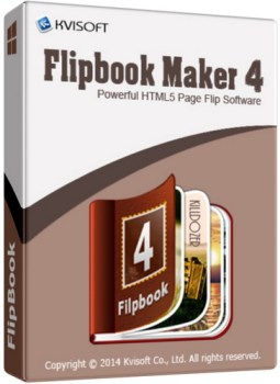 Kvisoft FlipBook Maker Pro 4.3.4.0 Full Crack & Keygen Free Download