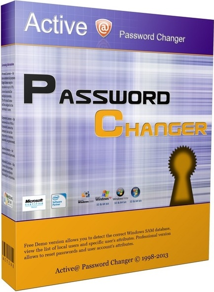 Active Password Changer 7 Professional Crack, Key Download