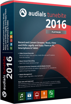Audials Tunebite 2016 Platinum Crack & Serial Key Download