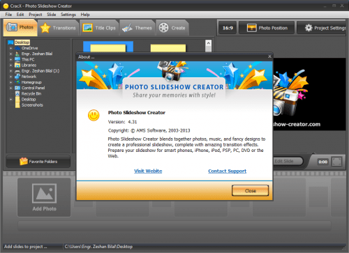 Photo Slideshow Creator 4.31 Patch + Serial Key Free Download