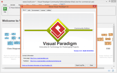 Visual Paradigm 13.0 Full Crack Key + Patch Free Download