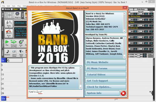 Band in a box download