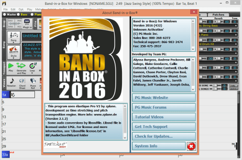 PG Music Band-in-a-Box Pro Full Win Mac Download