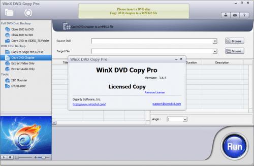 WinX DVD Copy Pro 2016 Patch & Keygen Free Download