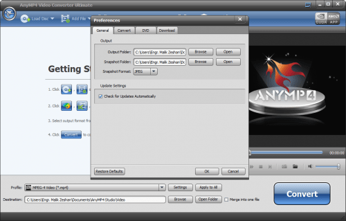AnyMP4 Video Converter Ultimate 7.0.28 Serial Key Full Download