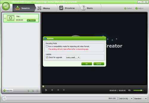 iSkysoft DVD Creator 4 Crack Patch + Keygen Free Download
