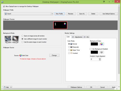 DisplayFusion Pro 8.1.2 Serial Key