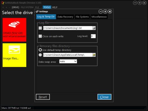 license key for getdataback simple