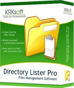 Directory Lister Pro 2.14.0.248 Enterprise Crack & Key Free