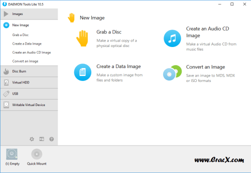 DAEMON Tools Lite 10.5.1.0230 Patch + Serial Key Download