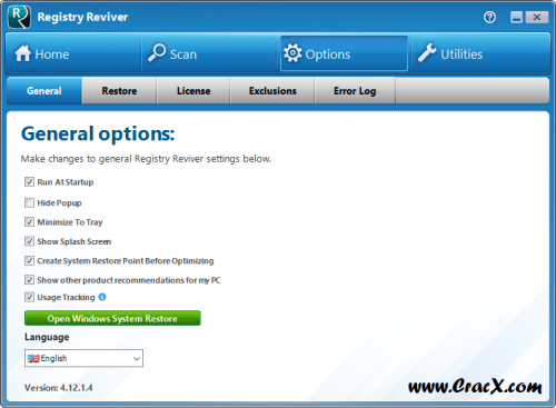ReviverSoft Registry Reviver 4 Patch & Keygen Download