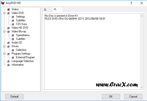 RedFox AnyDVD HD 8.1.0.0 Serial Key & Crack Download