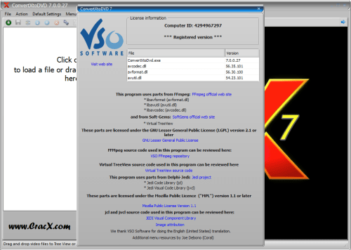ConvertXtoDVD 4.0.9.322 License key Serial number